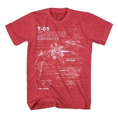 Boys' Star Wars T-Shirt Red