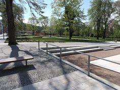 1. místo Park roku 2015   SZUZ Park Landscape, Parks, Sidewalk, Ideas, Side Walkway, Walkway, Thoughts, Walkways, Parkas