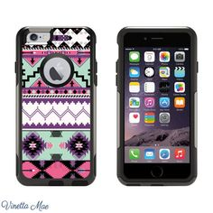 iPhone Otterbox Commuter Series Case for iPhone 5 5s by VinettaMae