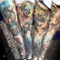 Tattoos - Comic Sleeve - 113676