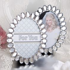 Bling Collection Place Card Frames - DISC.7781
