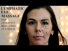 Anesia's Blogs: Self Lymphatic Eye Massage for Puffiness