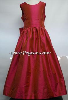 SORBET SILK FLOWER GIRL DRESSES