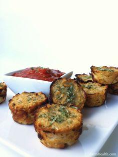 Guilt-Free Pizza Bites (Cauliflower Pizza Bites) | Amy Layne Paradigm Blog