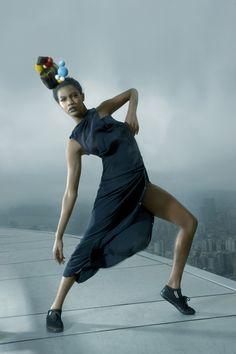 Eboni - Harnessed on the Macau Tower (EP10) (eliminated)