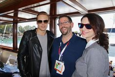 Here are more new fan pics of Sam Heughan, Caitriona Balfe, Diana Gabaldon and Ron D. Moore from Comic-Con See more pictures after the jump - Source: 1 | 2 | 3 | 4 | 5 | 6 | 7 | 8 | 9 | 10 | 11 | 1...