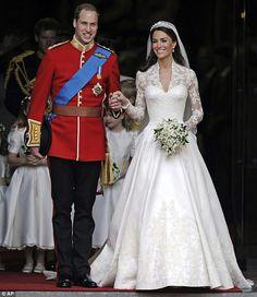 Prince William & Princess Kate Wed