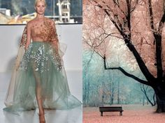 Nature Inspired Dresses by Liliya Hudyakova - Google Search