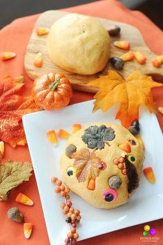 Easy Where's Waldo Pumpkin Spice Play Dough Sensory Activities