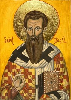 Saint Gregory Basil to the nobility, his was a pious family - his mother, father, and four of his nine siblings were canonized, including Saint Gregory of Nyssa. Grandson of Saint Macrina the Elder. As a youth Basil was noted for organizing famine relief, and for working in the kitchens himself, quite unusual for a young noble.