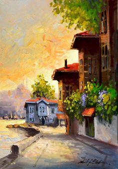 Mustafa Günen - Deniz Manzarası - Buscar con Google Yağlıboya Tablo , Modern Tablolar , İstanbul Manzara Resimleri www.tabloal.com315 × 450Buscar por imagen KIYIDAKİ EVLER