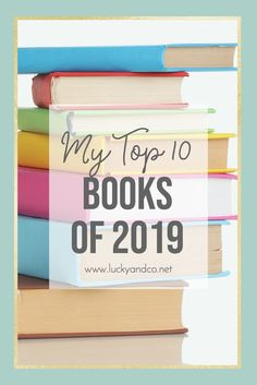 Best books of 2019 | Lucky & Co Life
