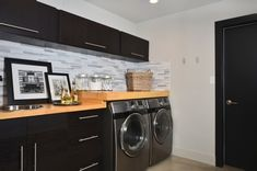 Like the countertops over the appliances
