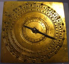 German alarm clock from the 1500s. Interesting article about the history of clocks.