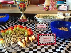 Candy Buffet For Disney Cars Birthday Party See More