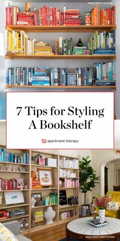 Home Remodel Interior If youre seeking inspiration on how to style your bookshelves, read on for seven tips from home staging pros. Decorating Bookshelves, Cool Bookshelves, Bookshelf Styling, Bookshelf Design, Scandinavian Bookshelves, Bookshelf Wall, Bookshelf Ideas, Bookshelf Inspiration, Craftsman Home Interiors