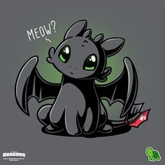 I can haz fish? 🐟 Get the gray official How To Train Your Dragon t-shirt only at TeeTurtle! Toothless Drawing, Cute Toothless, Toothless And Stitch, Cartoon Drawings, Animal Drawings, Toothless Wallpaper, Cute Animal Quotes, Geek Movies, Armas Ninja