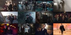 Doctor Who Series 9 promos, sized 300 x 200, four across, three down. The size change cut out some scenery in the Hell Bent pic, but oh, well. You can still see the Doctor looking badass as ever. ;) Which was your favorite episode, or the one that stood out the most for you? I think it's difficult to choose due to certain scenes that stand out more than others. Like Listen in Series 8, Heaven Sent stood out as far as acting, directing, writing, pacing, the music, the emotions, the visuals…