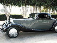 1935 Rolls Royce Phantom. #rollsroyceclassiccars