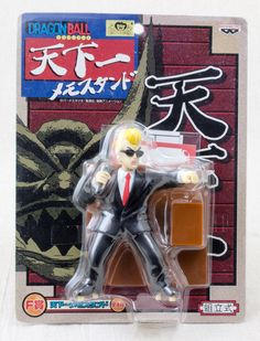 Dragon Ball Z Tenkaichi Announcer Figure Memo Stand banpresto JAPAN ANIME