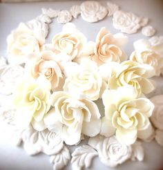 gardenia clay craft by DECO