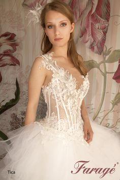 Faragé Wedding Gown - Tica