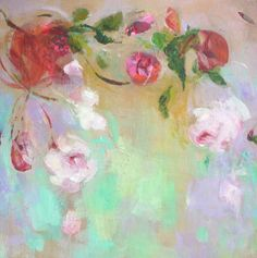 JAPANESE CHERRY 2 Original Abstract Painting