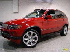 BMW X5 Red 1