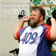 Visualize your goal