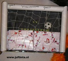 Surprise goal knutselen
