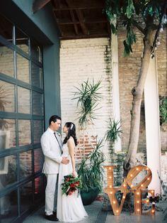 Photography: Ashley Kelemen - ashleykelemen.com/  Read More: http://www.stylemepretty.com/2014/05/15/whimsical-downtown-los-angeles-wedding/
