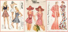 Boutique patrons couture vintage LadyMarloweStudios