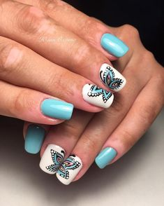 VK is the largest European social network with more than 100 million active users. Fun Nails, Nice Nails, Summer Nails, Nail Designs, Nail Polish, French Tips, Nail Art, Manicures, Art Tutorials