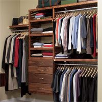 small walk in closet systems | walk in closet system organize your walk in closet with the richness ...