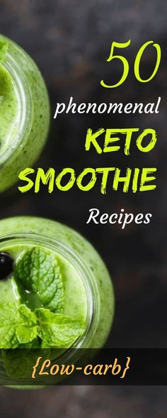 From fat to fab, celebs like Megan Fox, Kim Kadarshian and Adele have lost a lot of weight thanks to the low-carb and ketogenic diet! Sit back, relax, and pour yourself these refreshing Keto smoothies. Here's a great way to get all the delicious flavors you crave into a keto-fied treat, that will leave you wanting more. #keto #ketosmoothie #ketodiet #ketorecipes