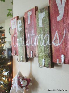 Scrap Wood Stocking Hanger bec4-beyondthepic...