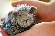 Black Sheep Felting Kit Needle Felting Kit by BearCreekDesign
