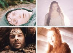 I've seen so many people making fun of the healing scene when Tauriel starts glowing because ~*cheesy romance lol*~  NO. NO. REMEMBER THE SCENE IN THE FELLOWSHIP OF THE RING? Arwen starts glowing when Frodo sees her after he is stabbed by the Witch-king. DID HE LOVE HER? nooo. The elves are glowing because these two boys are about to die. Not because they are in love.<<< thank you previous pinner.