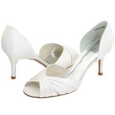 Stuart Weitzman Bridal - Crissy (White Satin) - Footwear, $97.50 | www.findbuy.co