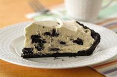 """Oreo Cream Pie - My sister made this """"with me"""" while I was on skype on the other end. Turned out great and everyone loved it. I couldn't tell you sitting in another country. ;-)"""