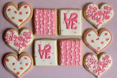 Pink Valentines   Cookie Connection
