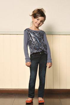 M2A Jeans   Fall Winter 2014   Kids Collection   Outono Inverno 2014   Coleção Infantil   peças   blusa manga longa infantil; calça jeans infantil; jeans; denim.