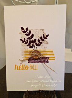 Debbie's Creative Spot: Love the For All Things stamp set