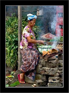 Balinese Cooky - Tianyar, Bali by Jiri Vondrazcek