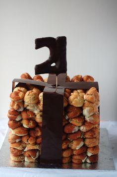 Poires au Chocolat: A Chocolate Croquembouche 21st Present