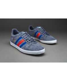 superior quality 11a7b aca33 Adidas Originals Gazelle OG Onix Collegiate Royal Light Red Trainer