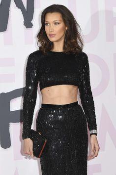Bella Hadid Photos, Bella Hadid Style, Cannes, Sequin Skirt, Sequins, Skirts, Tops, Women, Fashion