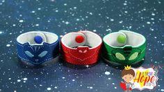 PJ Masks - Bracelets - Glow in the Dark - Catboy - Owlette - Gekko - Bedtime Heros