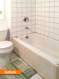 Before & After: A DIY Bathroom Renovation Old House New Tricks   Apartment Therapy