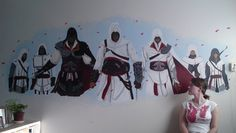 Assassins Creed trilogy by Ehlin.deviantart.com